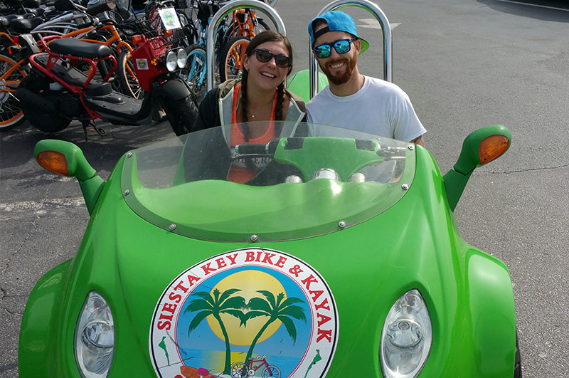scooter rentals Siesta Key